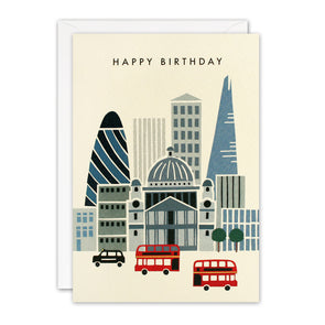 T3240 - London Sky Line Retro Press Card