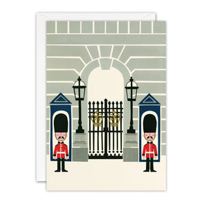 T3391 - Buckingham Palace London Blank Retro Press Card