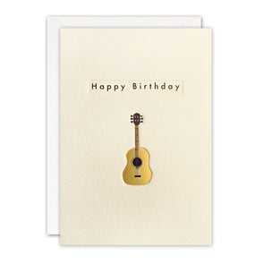 TN3402 - Birthday Guitar Ingot Card