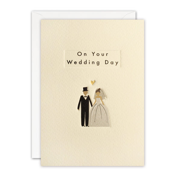 TN3407 - Wedding Couple Ingot Card