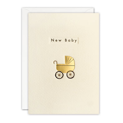 TN3408 - New Baby Pram Ingot Card