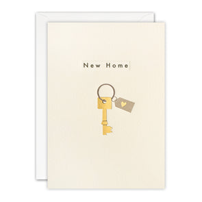 TN3499 - New Home Key Ingot Card