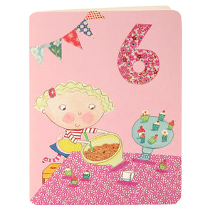 HC2037 - Girl Age Six Card