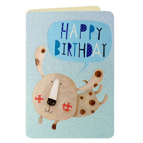 HS2289 - Puppy Birthday Card