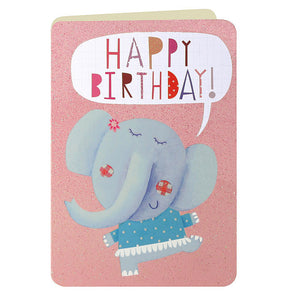 HS2290 - Elephant Birthday Card