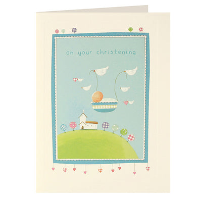 L2014 - Christening Basket Layers Card