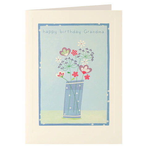 L2024 - Grandma Flowers card