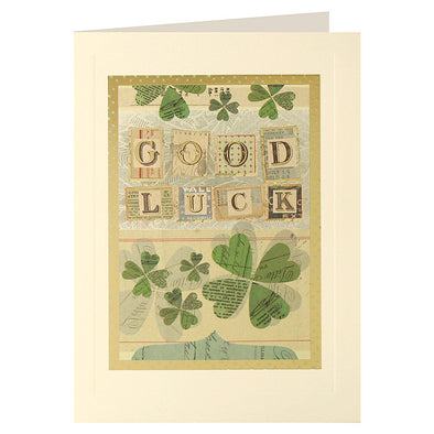 L2056 - Good Luck Clovers Layers Card