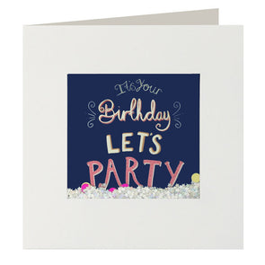 PJ2626 - Let's Party Shakies Card