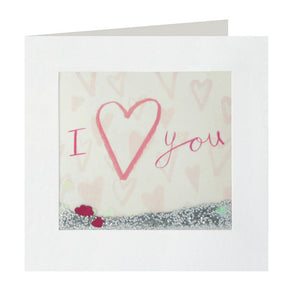 PS2378 - I Heart You Shakies Card