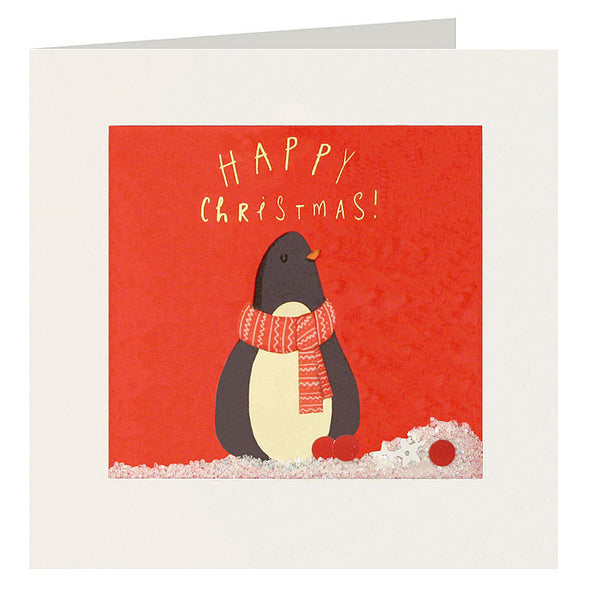 RPS2329 - Christmas Penguin Shakies Card