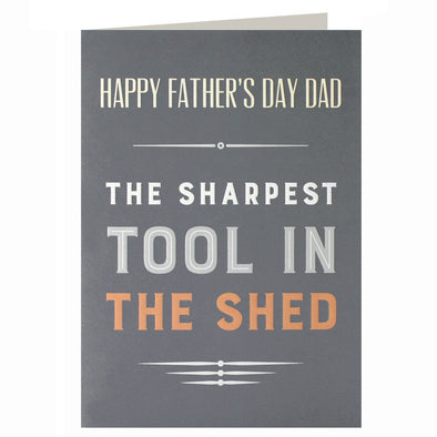 UF2504 - Sharpest Tool Father's Day Card