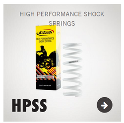 High Performance Shock Spring - HPSS