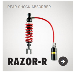 Razor-R Rear Shock - KAWASAKI