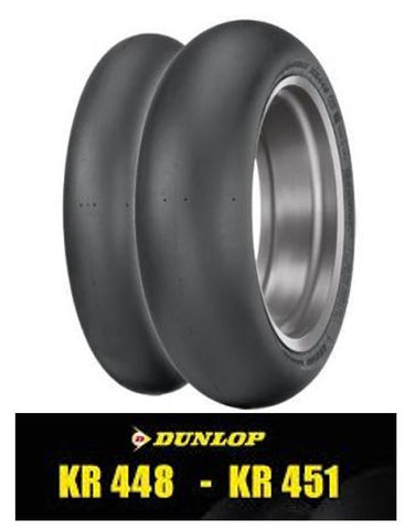 Dunlop KR451 Slick - Rear