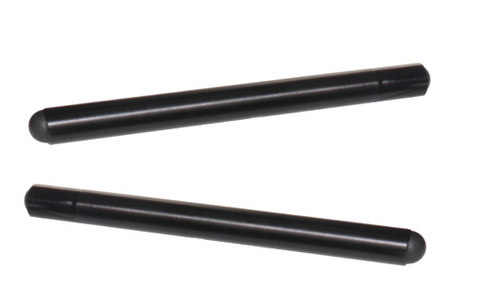 TB002 Accossato Aluminium Clip-on Tubes 280mm (PAIR)