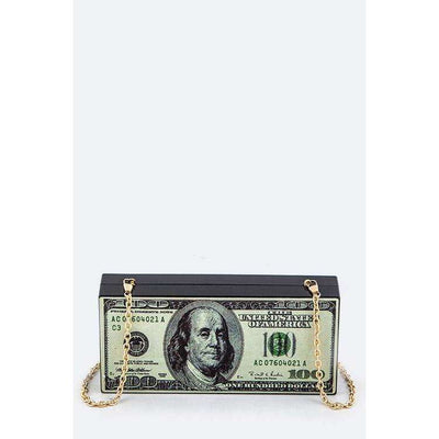 Money Bag Box Clutch