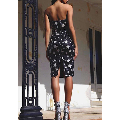 The Bianca Star Sequin Dress | The Stylish Edit