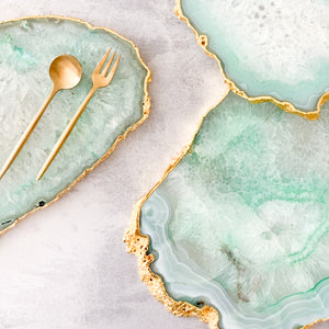 SERVING BOARD | AGATE GREEN | LIMITED EDITION