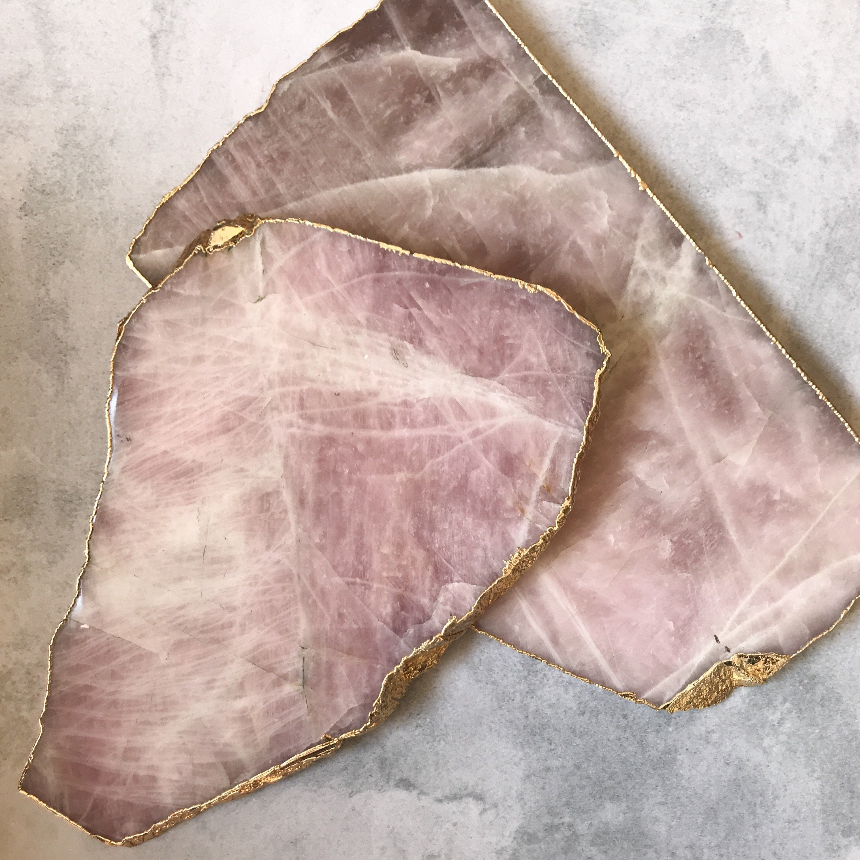 SERVING BOARD | ROSE QUARTZ (751806971939)