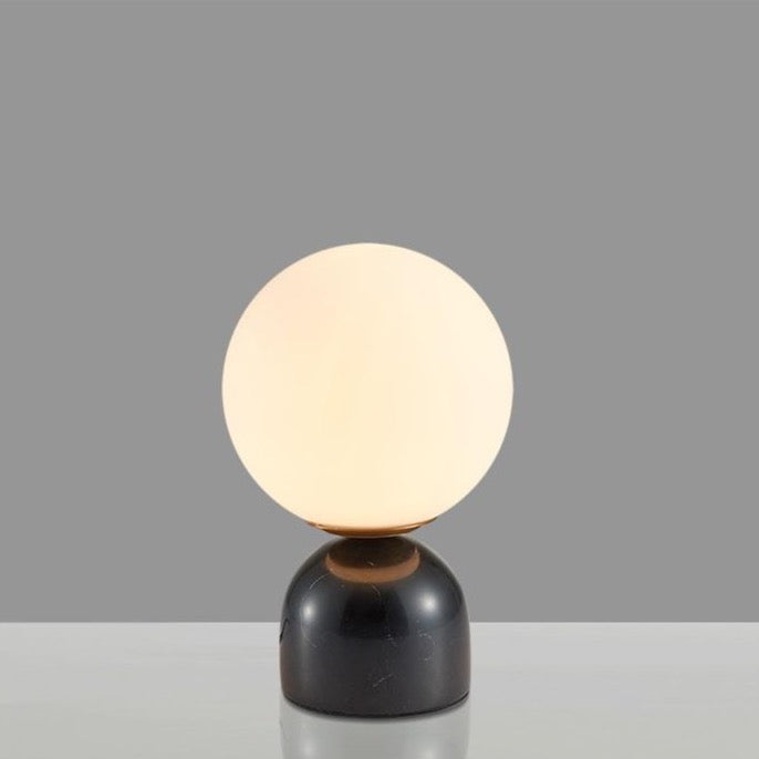 TABLE LAMP | MARBLE BASE | BLACK
