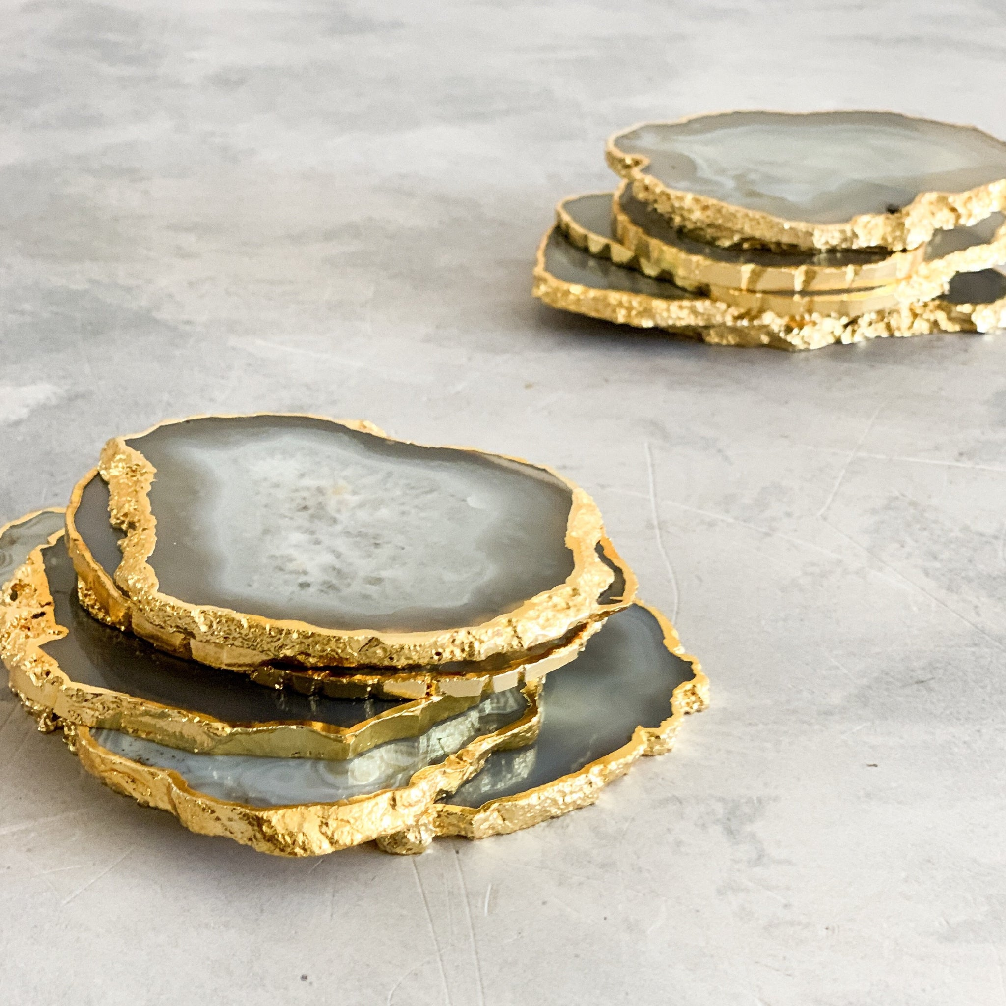 COASTERS | AGATE GREY | SET of 2 (1833085730851)