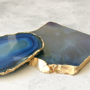 COASTERS | AGATE BLUE | SET of 2 (1372729278499)