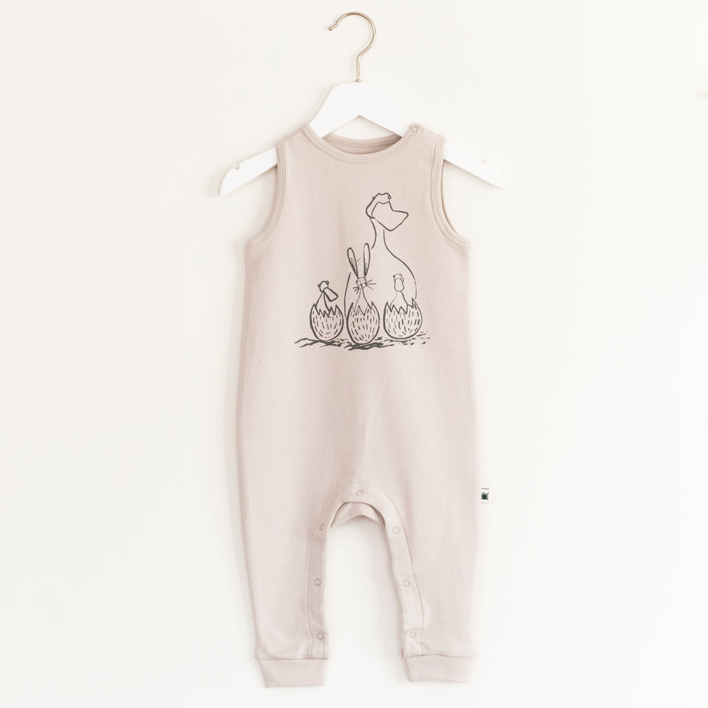 """Jump"" Jumpsuit - Grey"