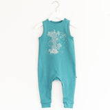 """Jump"" Jumpsuit - Teal"
