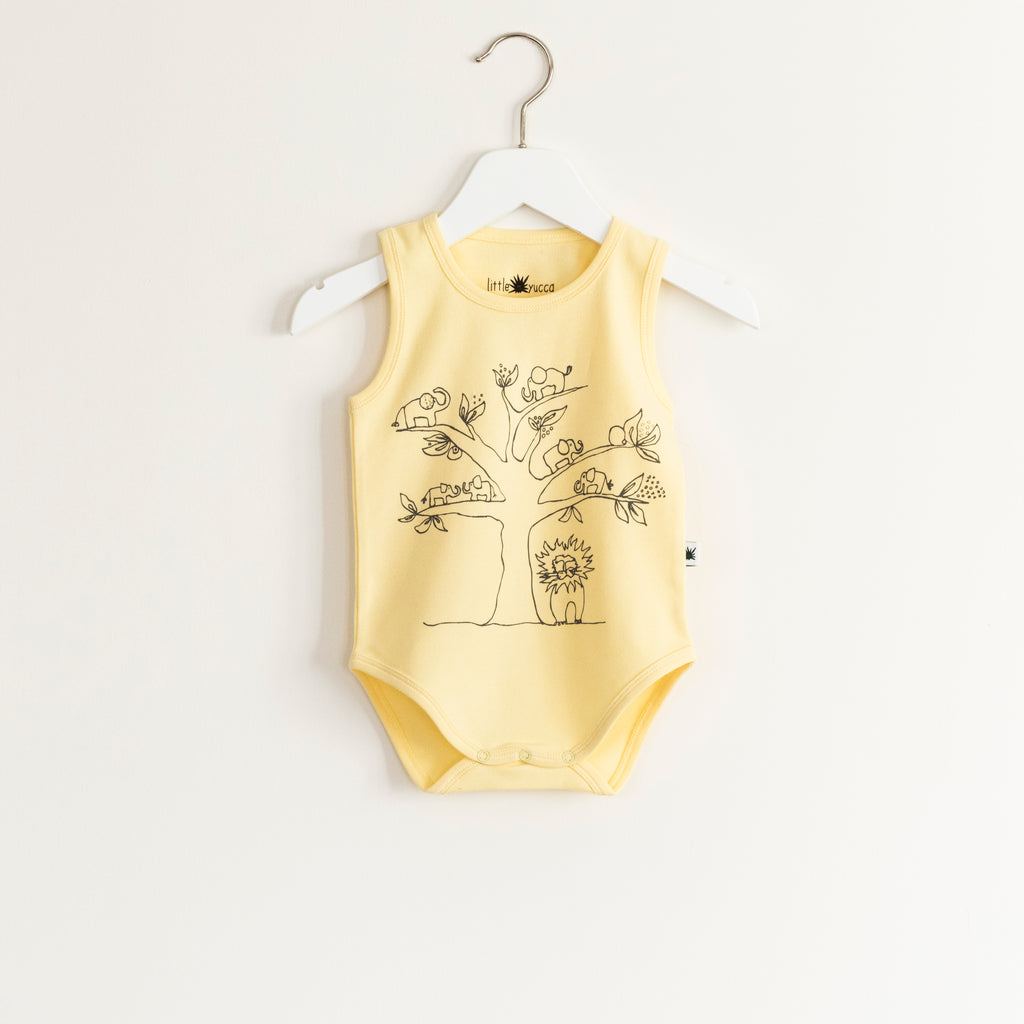 """Flash"" Onesie - Yellow"