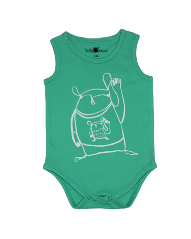 Sleeveless Onesie Mint
