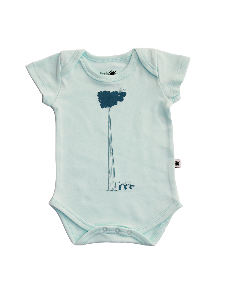 Onesie Short Sleeve / Mint