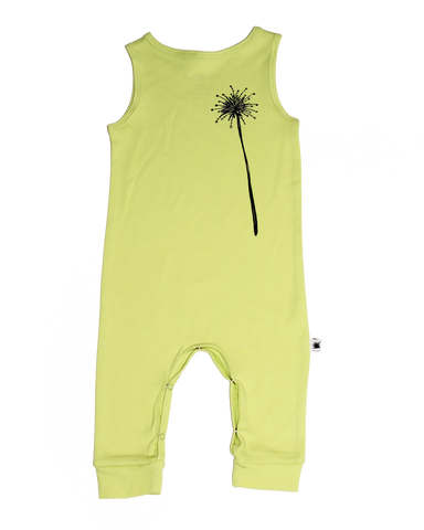 Sleeveless Suit Lime