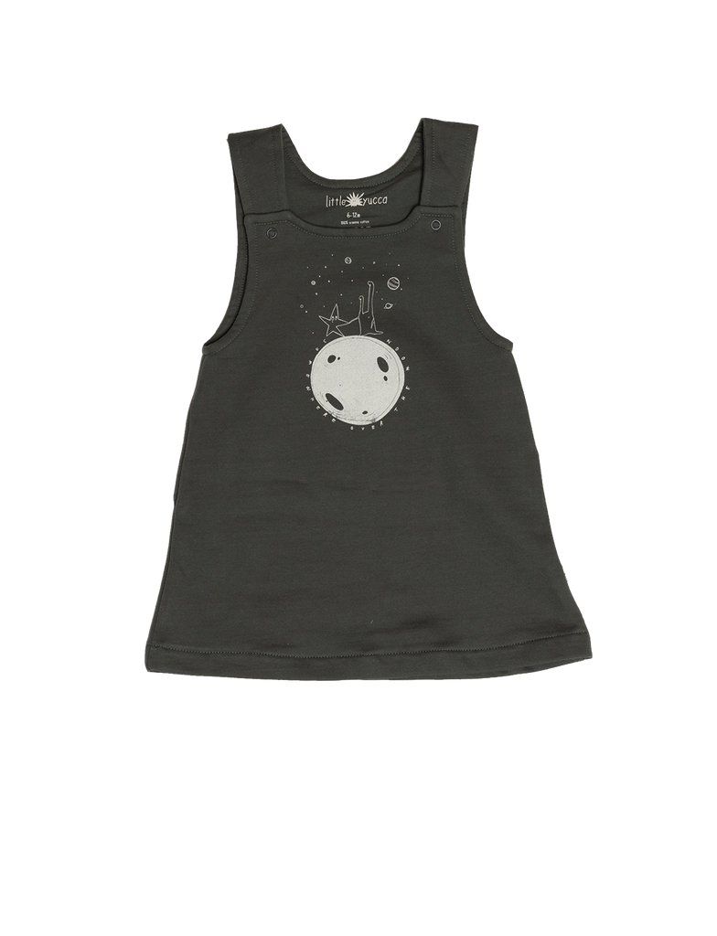 """Saturn"" Dress - Anthracite"