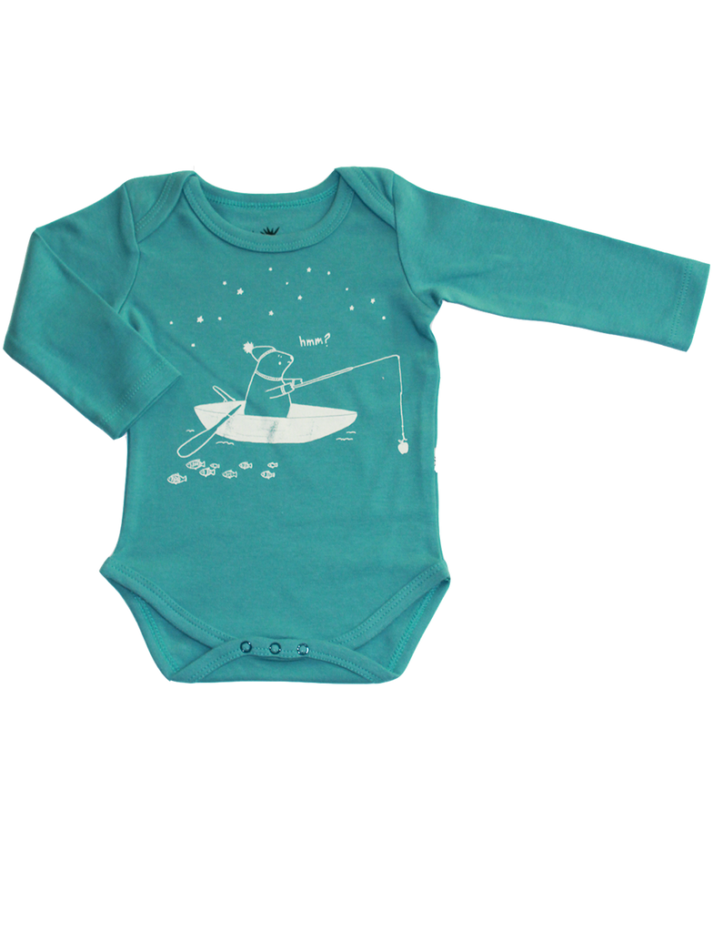 Onesie Long Sleeve / Teal
