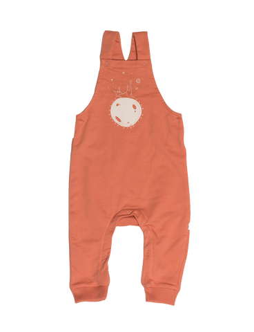 """Yucca"" Dungarees - Pink Terracotta"