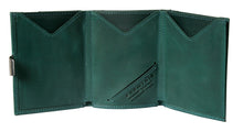 Emerald Green Leather Wallet