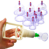 12 Cups Vacuum Body Cupping Set-a2zshopping.com.au