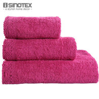 3pc Towel Set - Handkerchief, Face cloth, Bath Towel-a2zshopping.com.au