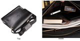 Business Leather Messenger Bag-a2zshopping.com.au
