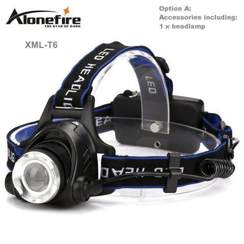 Rechargeable Head Lamp-a2zshopping.com.au