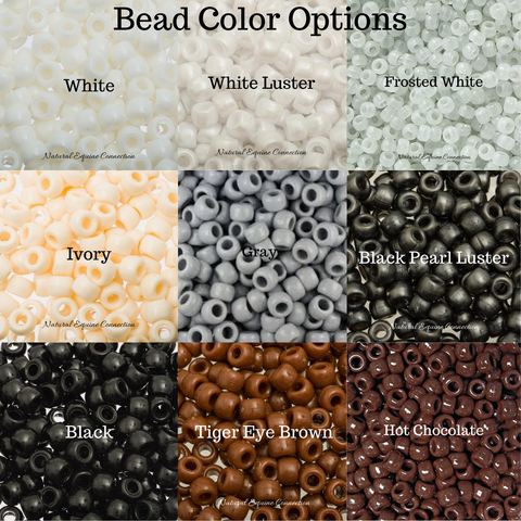 Horse Rhythm Bead Color Options