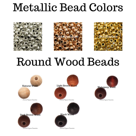 Metallic Bead Options for Horse Rhythm Beads