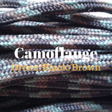 Camoflauge Paracord for Natural Horsemanship Custom Tack and Equipment