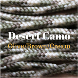 Desert Camo Paracord for Natural Equine Connection Custom Tack