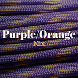 Purple Orange Paracord for Natural Horsemanship and Horse Training Equipment