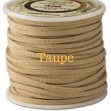Taupe Leather for Horse Neck Ropes and Training Lines