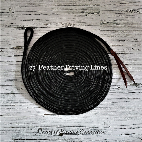 27' Ground Training Feather Driving Lines