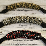 Adjustable Horse Training Neck Rope with Tassels