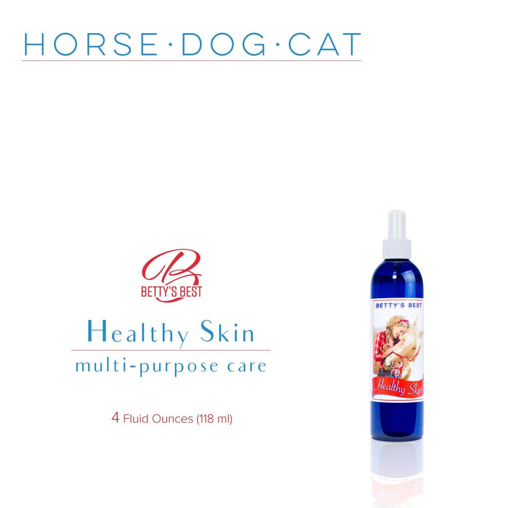 Betty S Best Healthy Skin Spray Natural Equine Connection